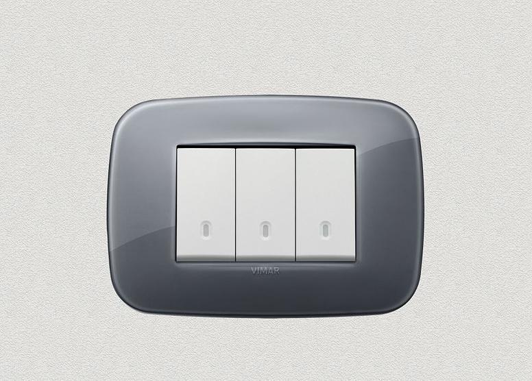 Reflex - Round -Smoke grey